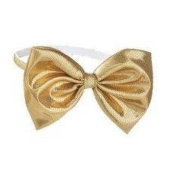 Baby Ganz Gold Bow Headband
