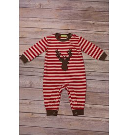 Be Mine Deer Applique Romper