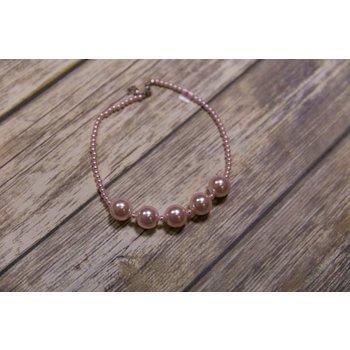 Mae Li Rose Multi Size Pearl Necklace