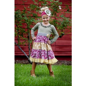 Giggle Moon Precious Ruby Party Dress