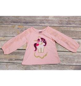 Calla Lily Pink Unicorn Shirt