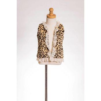 MLKids Leopard Eyelet Lace Vest