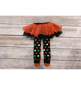 Ganz Polka Dot Halloween TuTu Leggings