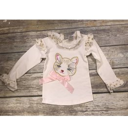 Calla Lily Ivory Kitty Shirt