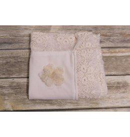 Bebemonde Cream Eyelet Lace Blanket