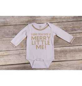 Ganz Have Yourself a Merry Little Me Onesie