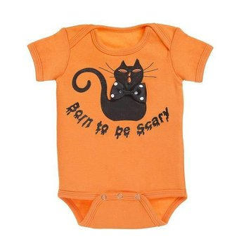 Ganz Born To Be Scary Black Cat Onesie 0-6M