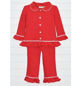 Be Mine Red Ruffle Pj Set