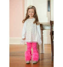 Mallory May Long Sleeve Sparkle Star Tunic