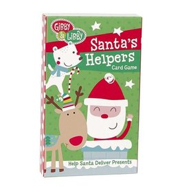 C.R. Gibson Santa's Helpers Card Game