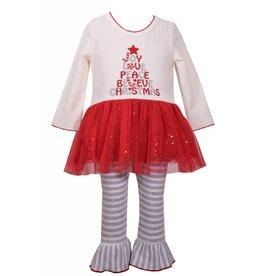 Bonnie Jean Joy Love Peace Believe Christmas Sequin Set