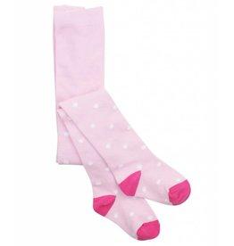 RuffleButts Pink Polka Dot Tights