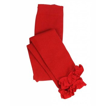 Ruffle Butts Red Ruffle Tights