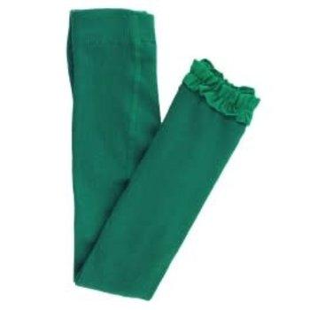 Ruffle Butts Emerald Ruffle Tights