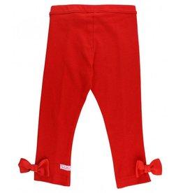 RuffleButts Red Ponte Pants