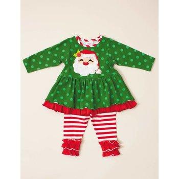 Jolly Green Santa Tunic Set
