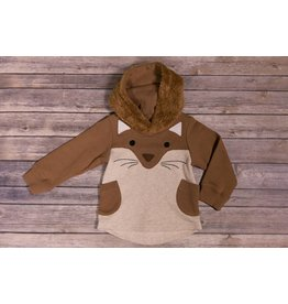 Bit'z Kids Squirrel Hoodie with Fuzzy Hood