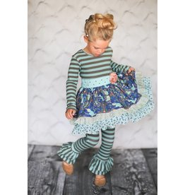Giggle Moon Brilliant Sapphire Maddison Pant Set