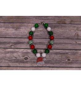 Christmas Bulk Necklace With Santa Hat