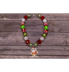 Christmas Bulk Necklace With Cool Santa