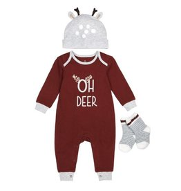 Petit Lem Oh Deer 3pc Set