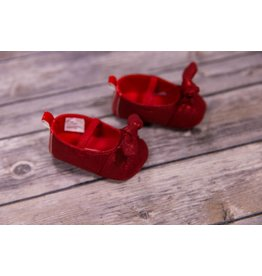Laura Ashley Red Shine Girl Shoes
