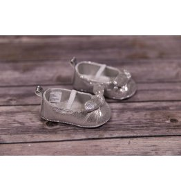 Laura Ashley Silver Shine Girl Shoes