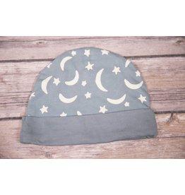 koko-nut Milk Boys Moon and Stars Printed Infant Cap
