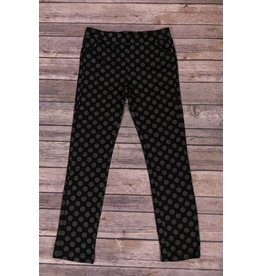 Blu by Blu Black Polka Dot Pants