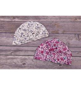 2 Pack Floral Hats