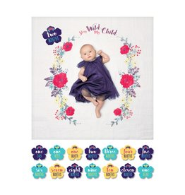 Mary Meyer Stay Wild My Child Baby's First Year Blanket