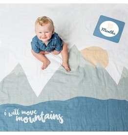 Mary Meyer I Will Move Mountains Baby's Fist Year Blanket