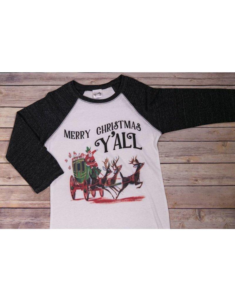 rockin ab merry christmas yall raglan