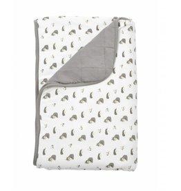 KYTE Clay/Wooldand Printed Blanket