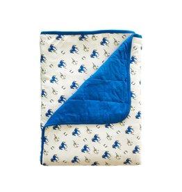 KYTE Cobalt Stampede Blanket