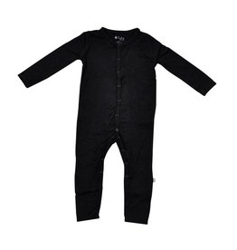 KYTE Black Footless Romper