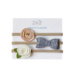 Baileys Blossoms Duchess Headbands