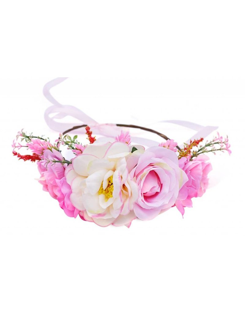 Transparent flower crown crazywidowfo transparent flower crown izmirmasajfo