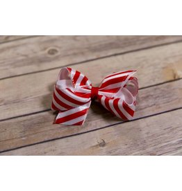 Wee Ones Medium Candy Cane Bow