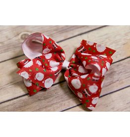 Wee Ones King Red Santa Bow