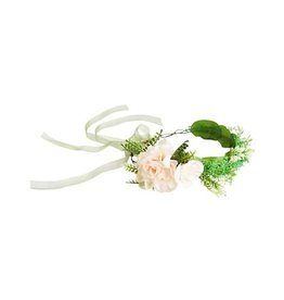 Baileys Blossoms Greenary Floral Crown