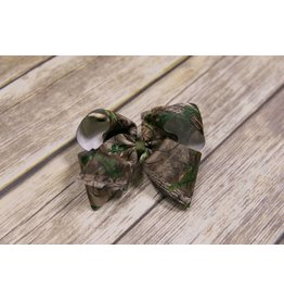 Wee Ones Large Camo Bow