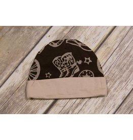 koko-nut Milk Boys Brown Rodeo Themed Cap