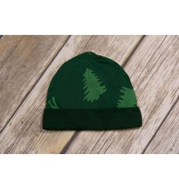 koko-nut Milk Forrest Green Moose and Trees Cap NB