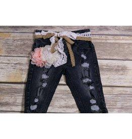 Adora-Bay Distressed Denim Jeans