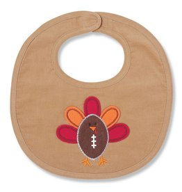 Mud Pie Turkey Football Bib