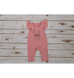 Jessica Simpson Baby Pink Bunny Romper