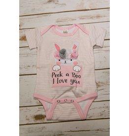Ganz Peek a Boo I Love you Diaper Shirt
