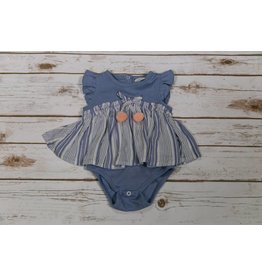 Jessica Simpson Baby Blue w/ White Skirted Bodysuit
