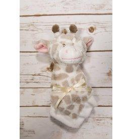 "Baby Ganz 14"" Jamie Giraffe Mini Blanket"